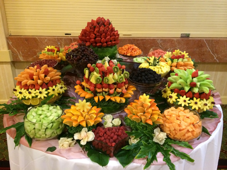 Fruit Buffets Buffet Edible